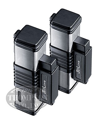 Jetline Lighter Black And Silver 2-Fer