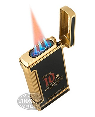 Arturo Fuente God Of Fire Ultimo Gold Lighter