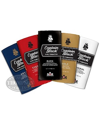 Captain Black Pouch Assortment Assorted