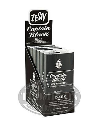 Captain Black Dark Pipe Tobacco Pouch