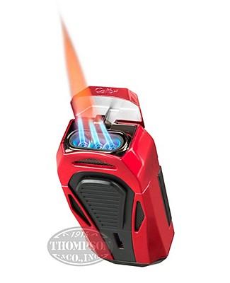 Colibri Boss Brilliant Red/Matte Black Lighter