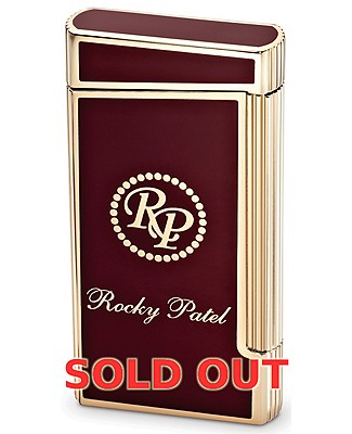 Rocky Patel Limited Edition Decade Red And Gold Lighter