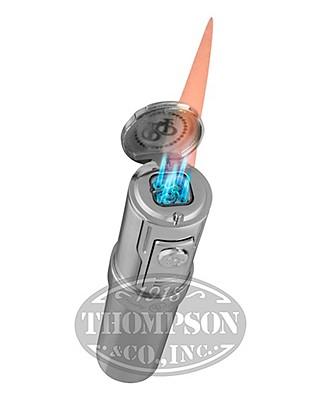 Rocky Patel Diplomat 5 Torch Chrome Lighter