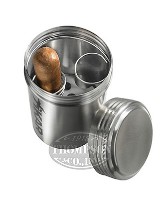 Xikar Portable Stainless Steel Ash Can
