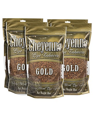 Cheyenne Gold Pipe Tobacco 16oz 5-Fer
