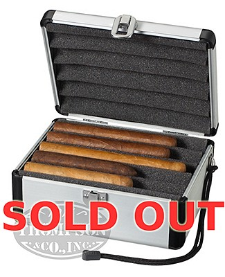 Travel Aluminum Case For 10 Cigars