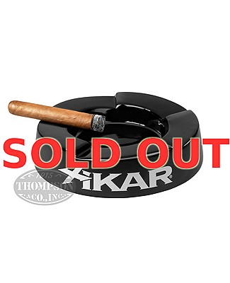 Xikar Stair Step Black Ashtray