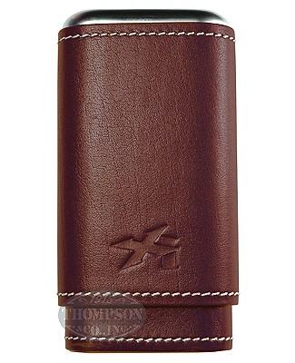 Xikar Envoy 3 Cigar Case Cognac