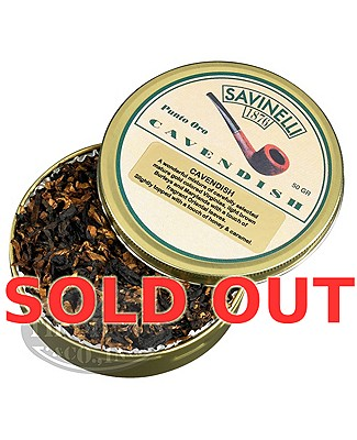 Savinelli Cavendish Pipe Tobacco Tins