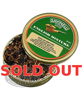 Savinelli English Mixture Pipe Tobacco Tins