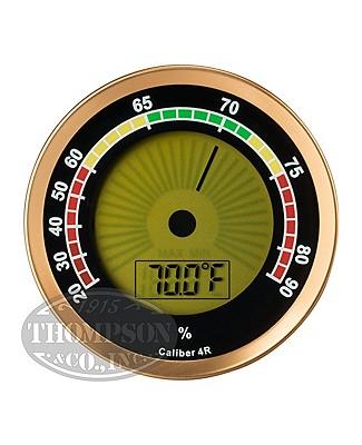 Oasis Caliber 4r Gold Digital Hygrometer
