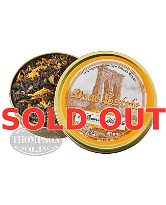 Drew Estate 7th Avenue Blonde Pipe Tobacco Single Tin