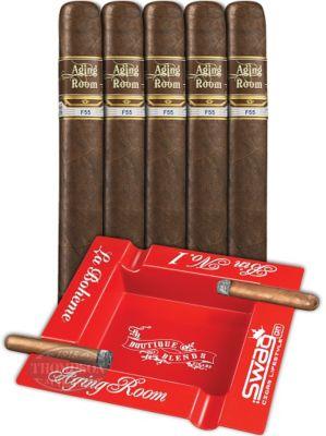Aging Room Quattro F55 5 Cigar Combo Sumatra