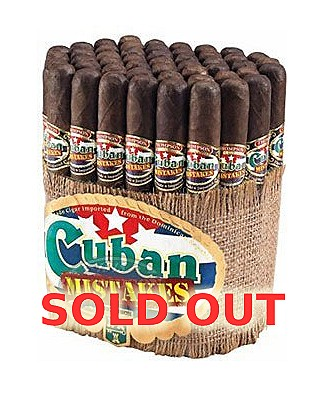 Cuban Mistakes Robusto Maduro