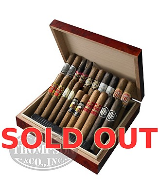 Thompson Special 20 Cigar Plus Humidor Combo