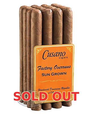 Cusano Factory Overruns Churchill Sun Grown