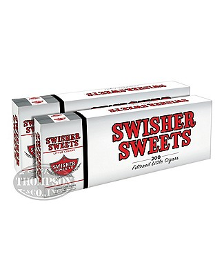Swisher Sweets Little Cigars 2-Fer Natural Filtered Cigarillo