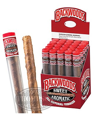 Backwoods Tube Upright Natural Cigarillo Sweet