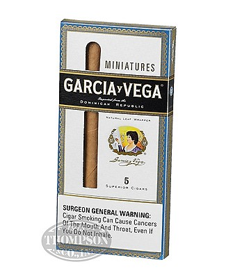 Garcia y Vega Miniature Natural Cigarillo Packs