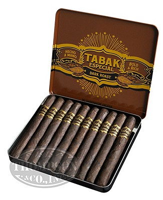 Tabak Especial Cafecita Negra Coffee Maduro Cigarillo Single Tin