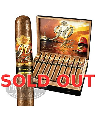 90 Miles Reserva Selecta Eminente Maduro Lonsdale