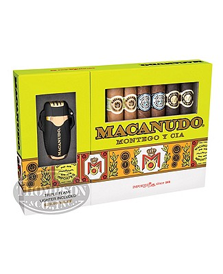 Macanudo Collection With Lighter Gran Toro