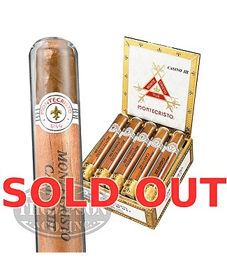 Montecristo White Casino III Connecticut Robusto