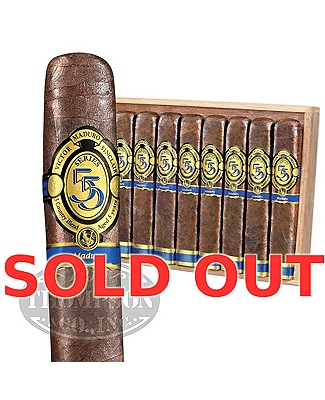 Victor Sinclair 55 Series Blue Box Pressed Maduro Robusto Grande