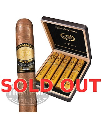 La Flor Dominicana Oro No. 6 Tubo Natural Toro