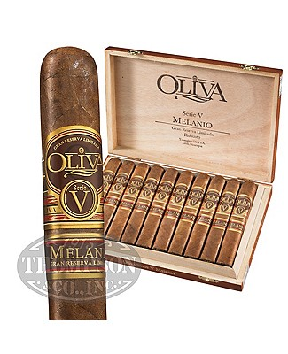 Oliva Serie V Melanio Gran Reserva Limitada Flat Pressed Sumatra Robusto
