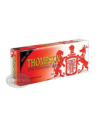 Thompson Filtered Cigars Hard Park 6-Fer Natural Filtered Cherry