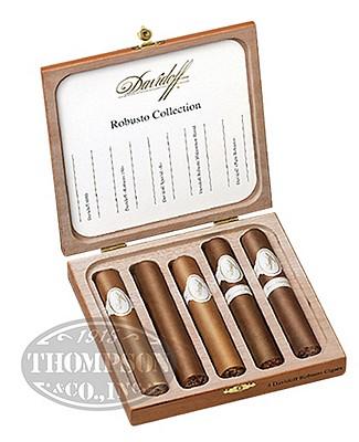 Davidoff Robusto Collection Five Cigar Sampler