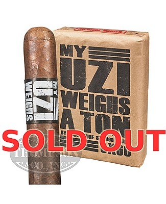 My Uzi Weighs A Ton 6 X 60 Maduro Toro Gordo Plus My Uzi Truckers Cap