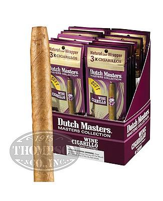 Dutch Masters Wine 20/3pks Natural Cigarillo Wine