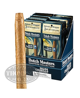 Dutch Masters Palma 20/3pks Natural Cigarillo