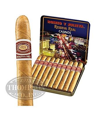 Romeo y Julieta Reserve Real Casino Cigarillo Connecticut