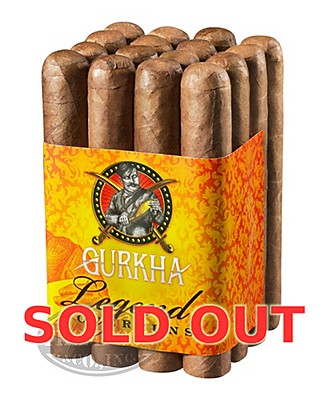 Gurkha Legend Factory Overruns Robusto Connecticut