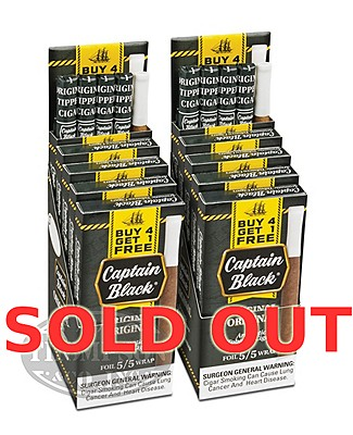 Captain Black Original Mini Tipped Natural Cigarillo 2-Fer