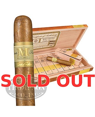 Macanudo Estate Reserve Limited Edition No. I Connecticut Churchill