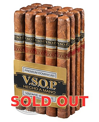 VSOP Vintage Reserve Box Press Churchill Maduro Churchill
