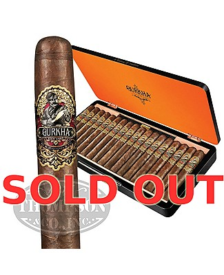 Gurkha 125th Anniversary XO Connecticut Gordo
