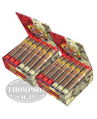 Thompson Explorer Flavors Gordito Habano Cherry/Vanilla Tubos 2-Fer