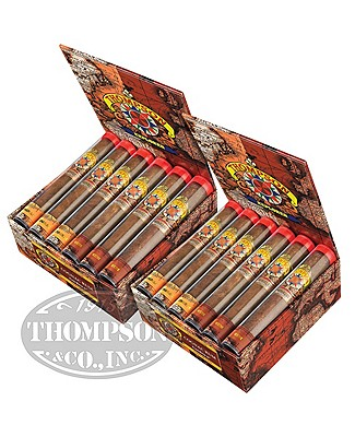 Thompson Explorer Flavors Gordito Habano Cognac/Rum Tubos 2-Fer