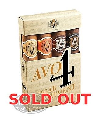 Avo Classic 4 Cigar Sampler Holiday Collection