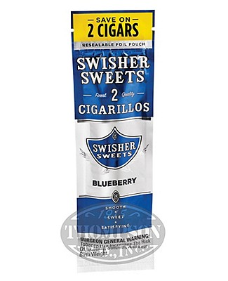 Swisher Sweets Blueberry Cigarillos 60 Count