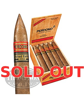 Perdomo 2 Limited Edition 2008 Torpedo Natural