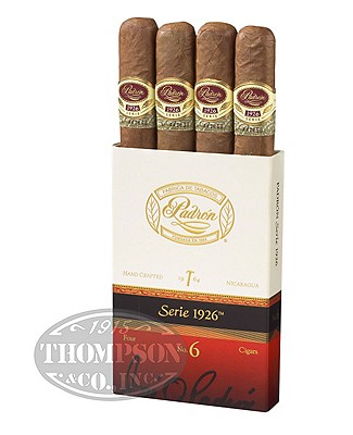 Padron Serie 1926 No. 6 Natural Robusto 4 Pack
