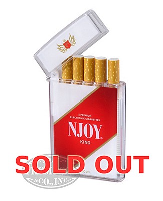 NJOY King Traditional Bold 4.5% Ecigarette 5 Pack
