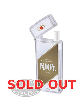 NJOY King Traditional Gold 3.0% Ecigarette Single