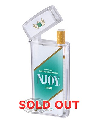 NJOY King Menthol Bold 4.5% Ecigarette Single